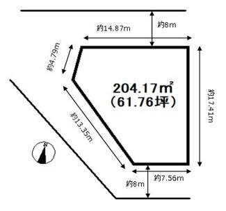【土地図】高槻市芥川町2丁目