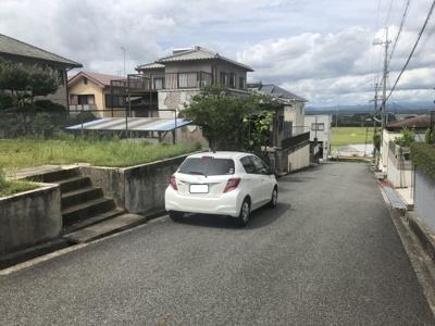【前面道路含む現地写真】小野市高山町売土地
