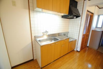 【キッチン】ふれあいハウス