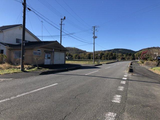 【前面道路含む現地写真】勿来町酒井関根前 売土地