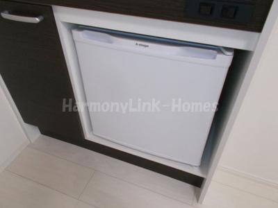 ハーモニーテラス青井Ⅵのミニ冷蔵庫
