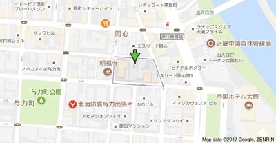 【地図】ETC同心