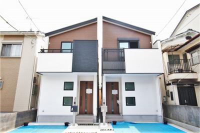 限定2区画!デザインから住み心地まで拘りぬいて作り上げられた新築戸建! 最大50万円が受け取れるすまい給付金対象物件です