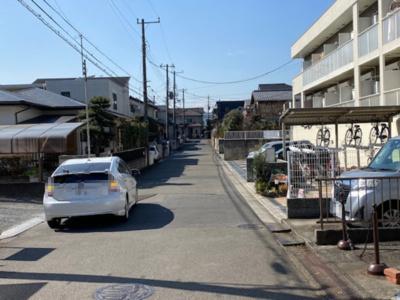 【前面道路含む現地写真】藤沢市湘南台6丁目 中古戸建