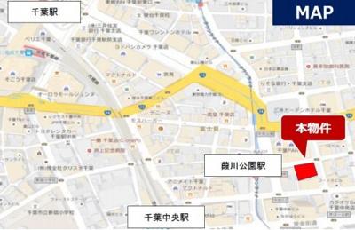 【地図】フジモト第一生命ビル