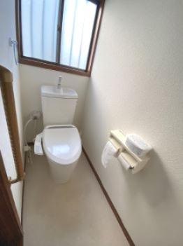 共用のトイレです。