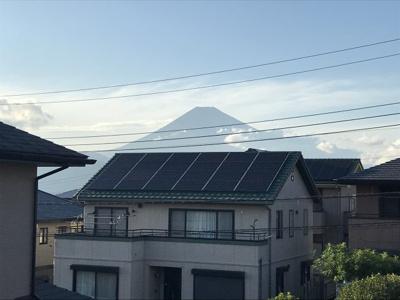 2階洋室からの富士山眺望