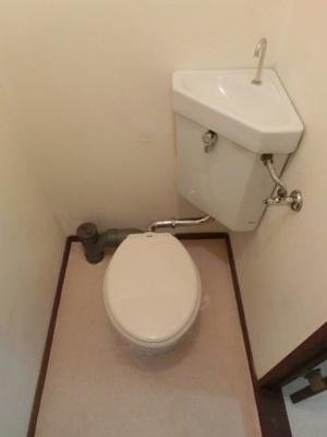 【トイレ】くらもりアパート