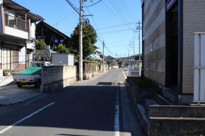 【前面道路含む現地写真】神辺町平野 売土地