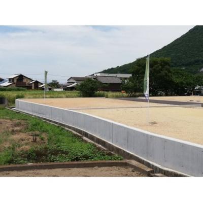 【前面道路含む現地写真】飯山VENTO E号地