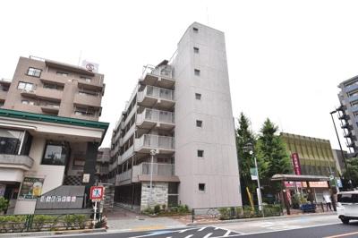 【外観】松江マンション 3階 リ フォーム済