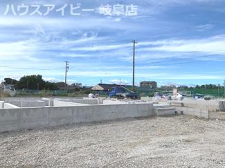 笠松町円城寺 平屋の新築戸建 全2棟 お車スペース並列4台以上 耐震等級3