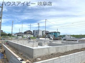岐南町薬師寺 平屋の新築戸建 全3棟 お車スペース並列4台可能 ウォークインクローゼット・納戸スペースあります。