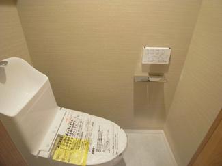 ストークマンション中延 温水洗浄便座トイレ新規設置