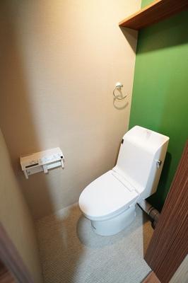 【トイレ】大名サンハイツ