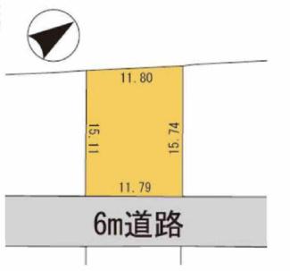 【土地図】守山市播磨田町 売土地