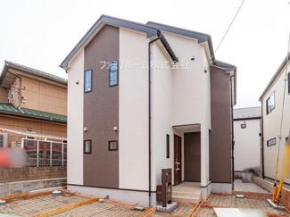 船橋市新高根2丁目 新築分譲住宅 ※令和3年1月撮影写真です。