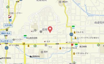 【地図】ア・ラ・モード・ヴィ