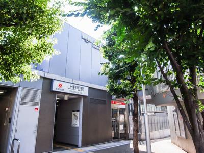 上野毛駅です