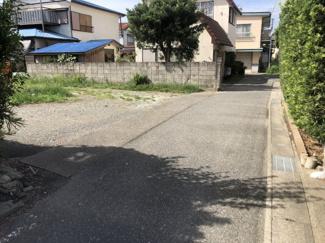 【前面道路含む現地写真】館山市北条2120-1