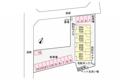 【地図】ルーセント Ⅲ