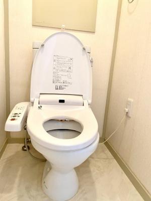 【トイレ】マンション青い木