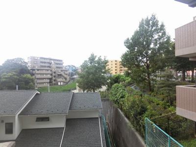 1階部分からの眺望
