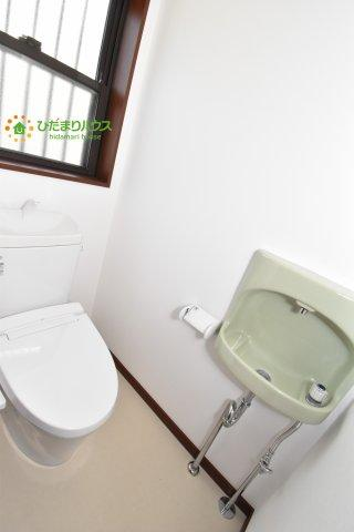 【トイレ】鴻巣市愛の町 中古一戸建て