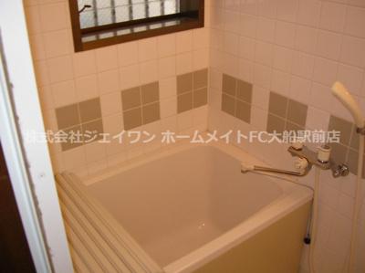 【浴室】笠間ハイツ G棟