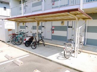 使い勝手の良い駐輪場スペース完備です