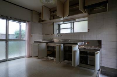 【キッチン】福音寺一戸建て