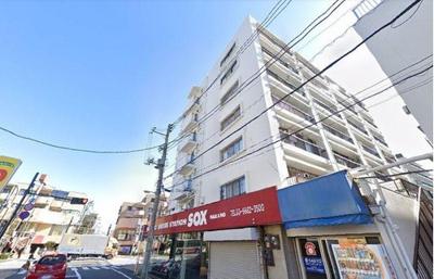 都営大江戸線「新江古田」駅から徒歩約2分の駅近物件です。