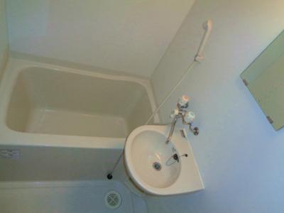 【浴室】越部アルプス山坂ビル