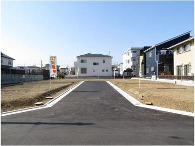 【外観】茅ヶ崎市今宿 売地 全6区画 E区画