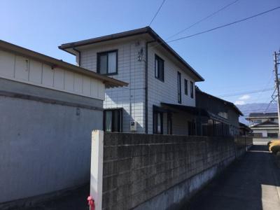 【外観】中央市大田和 ヘーベルハウス施工中古住宅