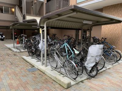 駐輪場+バイク置場