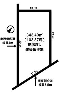 【土地図】網走市新町1丁目