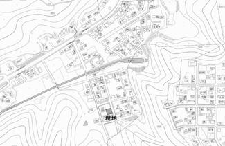【地図】網走市錦町 売土地