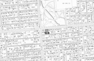 【地図】高栄東町3丁目 売土地