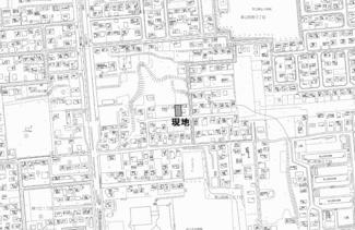 【地図】美山町南10丁目 売土地