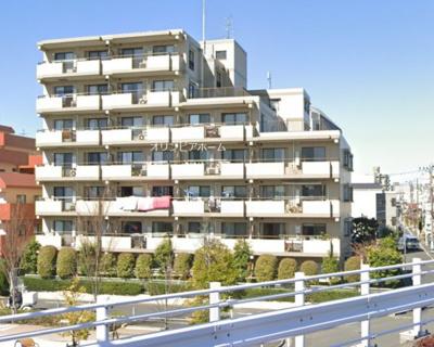 【外観】平井サンハイツ 81.65㎡ 最 上階 角 部屋 リ ノベーション済