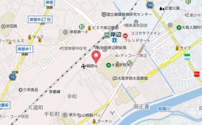 【地図】J&C岸部南001
