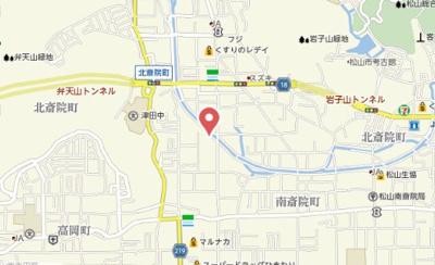 【地図】ミニヨンハウスSAYAⅡ B