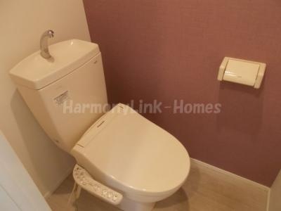 ハーモニーテラス前野町Ⅱの落ち着いたトイレです☆
