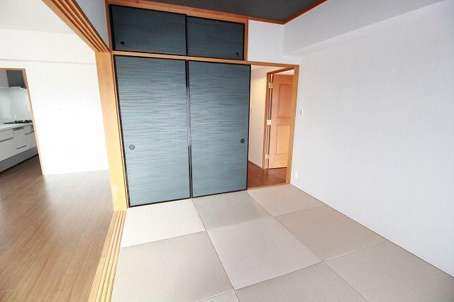 琉球畳でおしゃれ感を更にアップ。あると便利な和室がこんなにお洒落なら、客間としても安心してご利用できます。