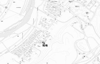 【地図】川東 売土地