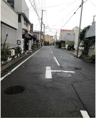 【前面道路含む現地写真】和歌山市出口新端ノ丁 売土地