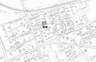 【土地図】留辺蘂町旭西 売土地