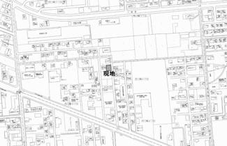 【地図】西三輪4丁目 売土地