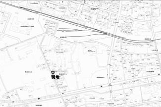 【地図】留辺蘂町旭中央 売土地